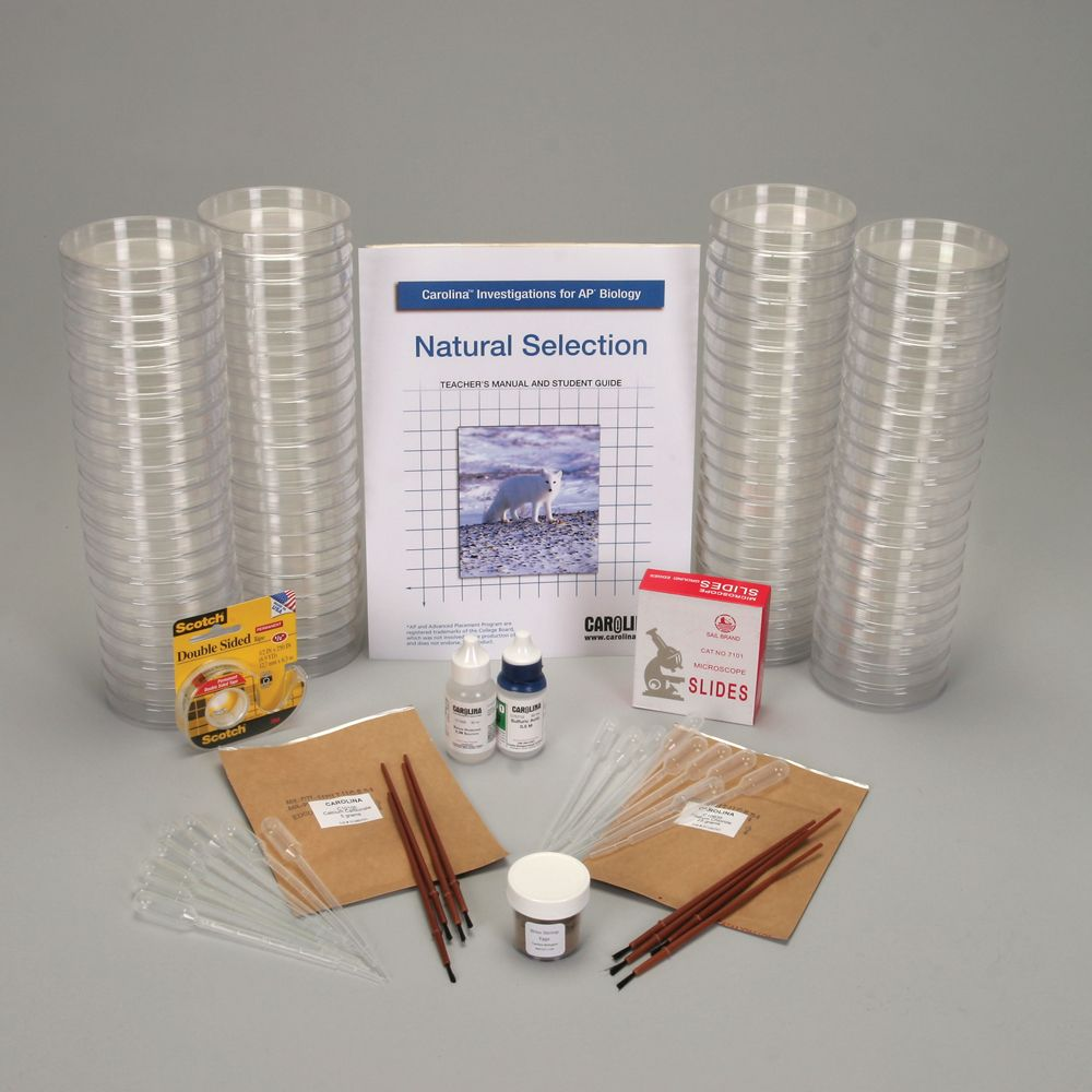 Carolina Investigations® for AP® Biology: Natural Selection