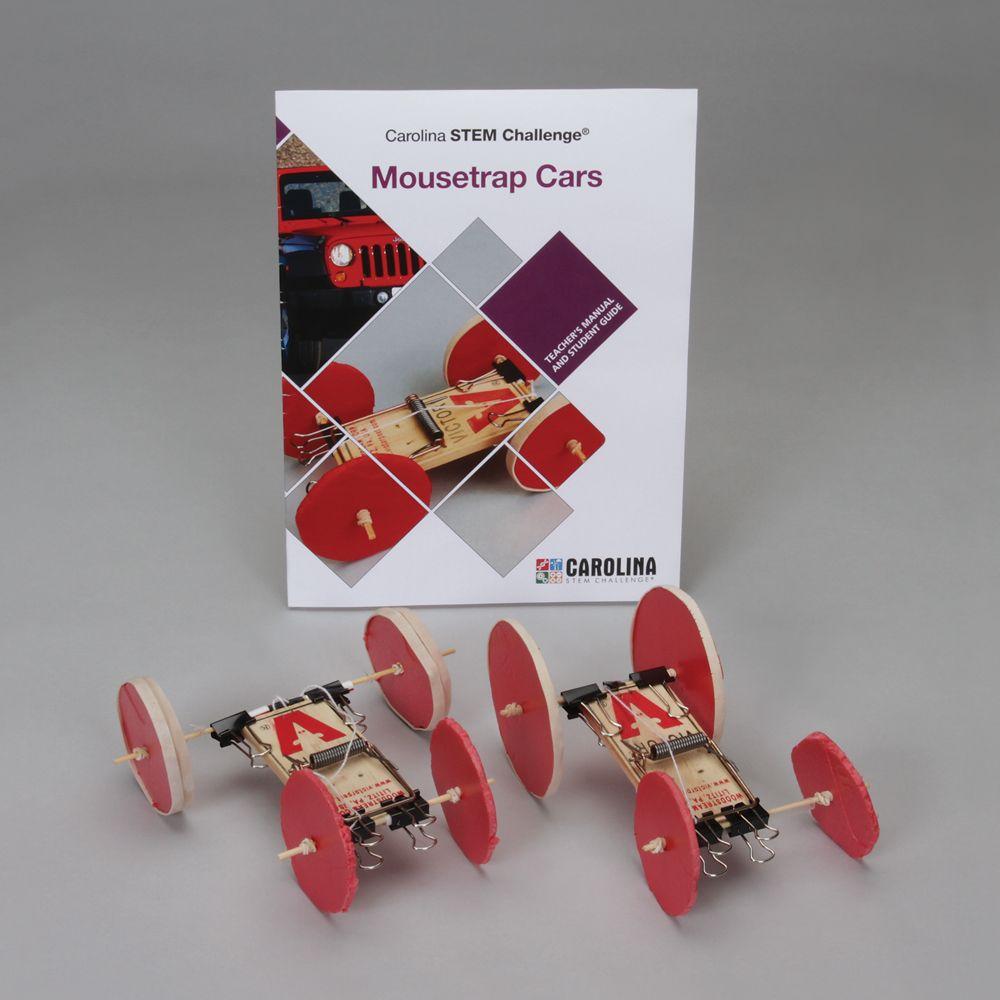 Carolina Stem Challenge Mousetrap Cars Kit Carolina