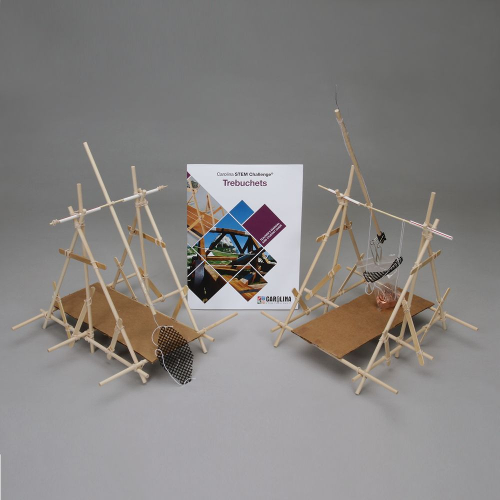 Carolina Stem Challenge Trebuchets Kit Diagram Picture Trebuchet