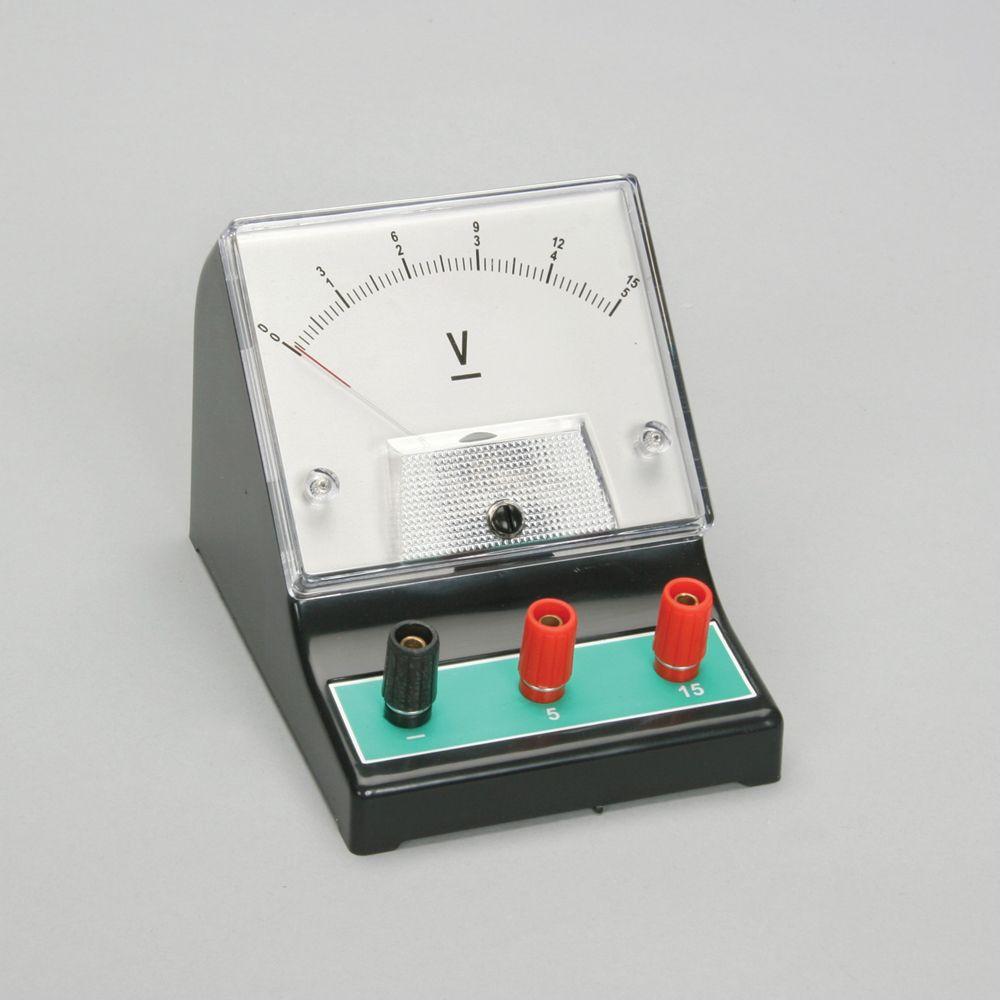 Dc Voltmeter Double Range 0 5 V 15 Electronic Voltmeters