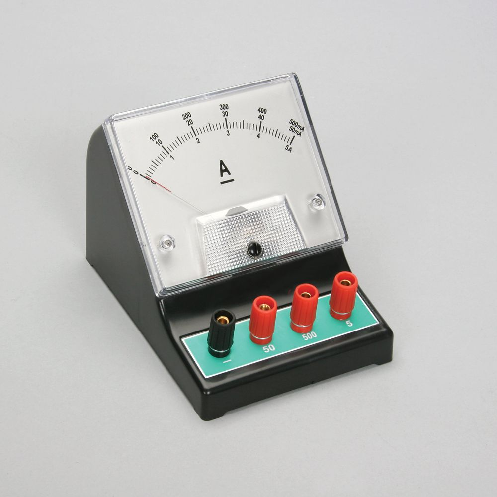 Ammeter For Science : Dc ammeter triple range ma a