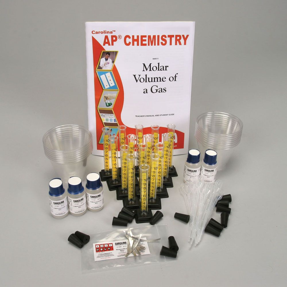 Molar Volume of a Gas Kit for AP® Chemistry | Carolina.com