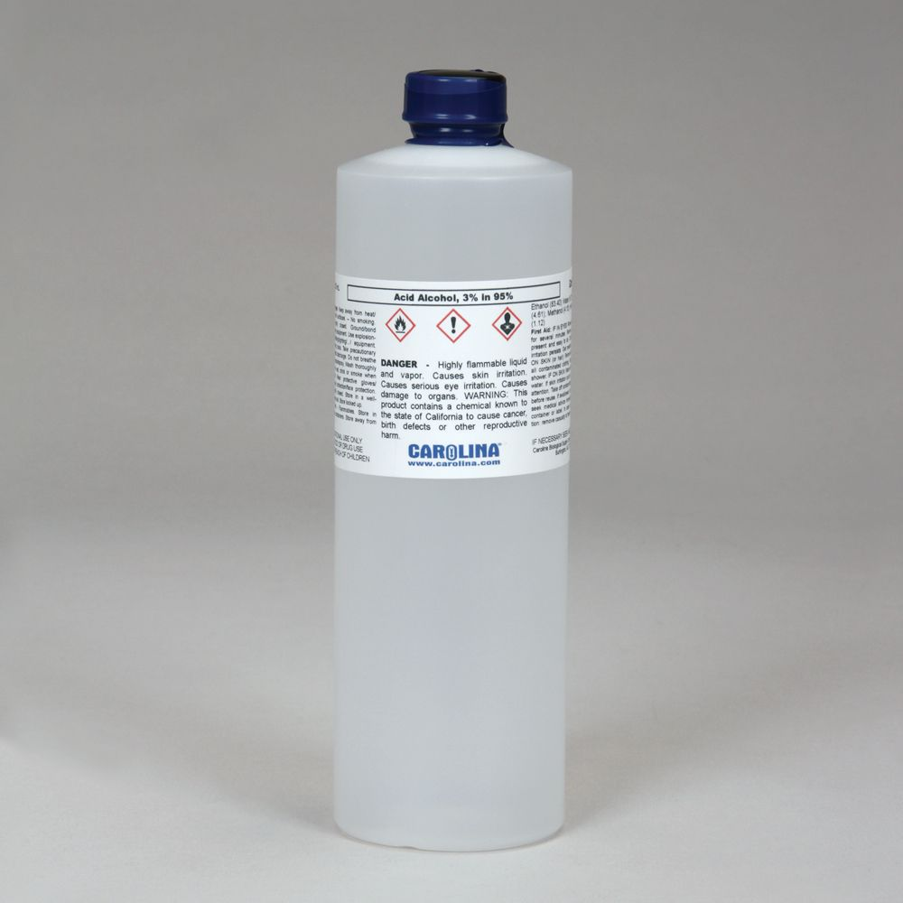 Acid Alcohol 3 Hydrochloric In 95 Ethanol Laboratory Grade 500