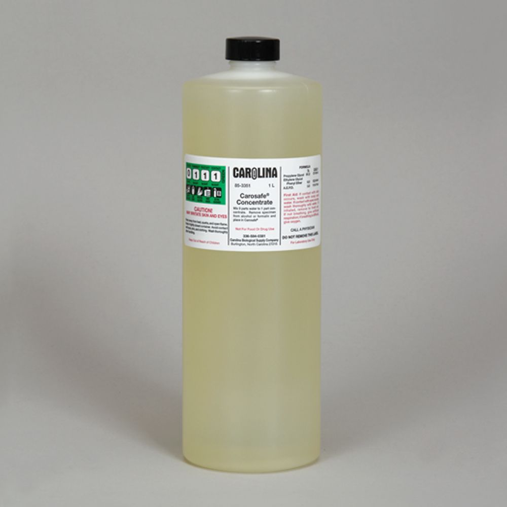 Carosafe concentrate laboratory grade 1 l carolina carosafe concentrate laboratory grade fandeluxe Image collections