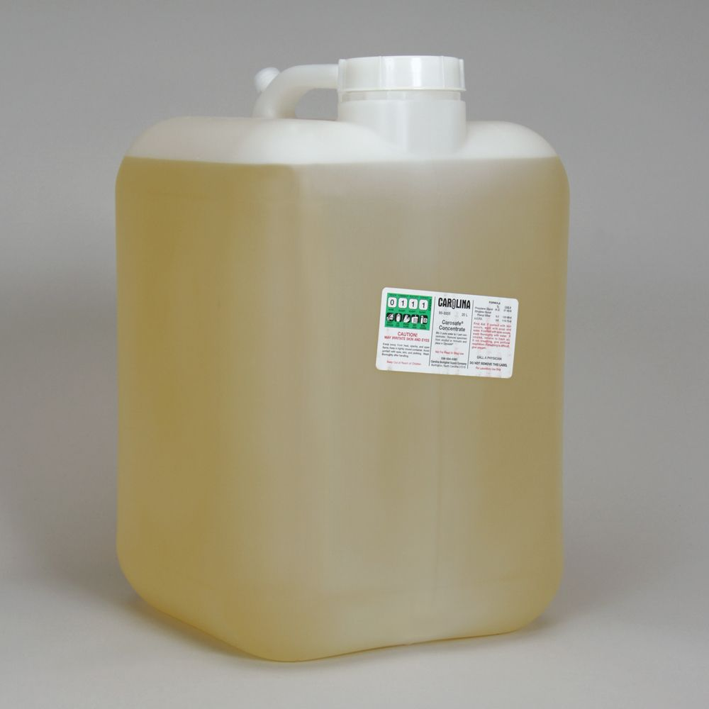 Carosafe concentrate lab grade 20 l carolina carosafe concentrate lab grade fandeluxe Image collections