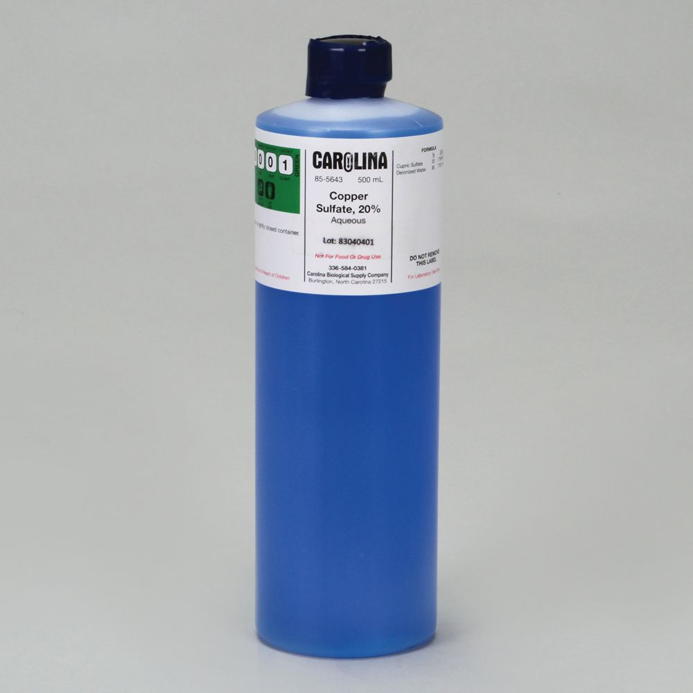 how to make copper sulfate solution