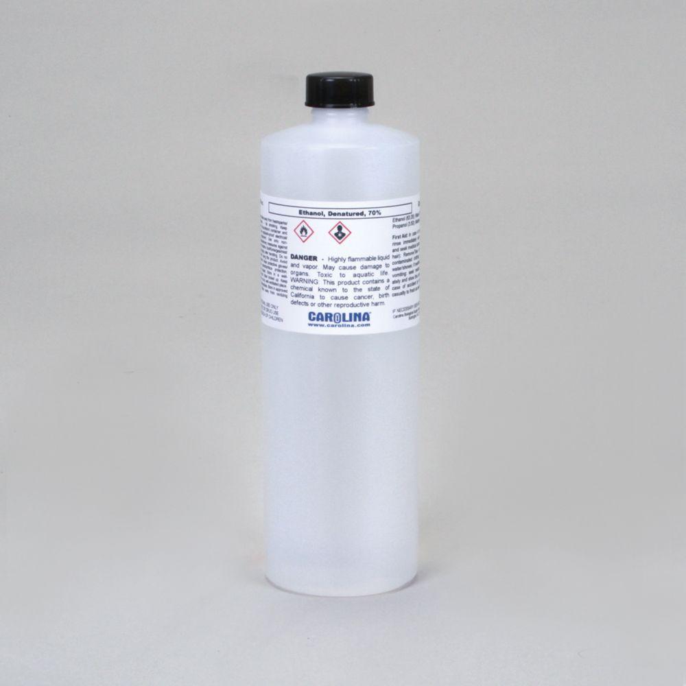 Absolute ethyl alcohol bottle vintage chemical bottle science lab - Ethanol 70 Laboratory Grade 500 Ml