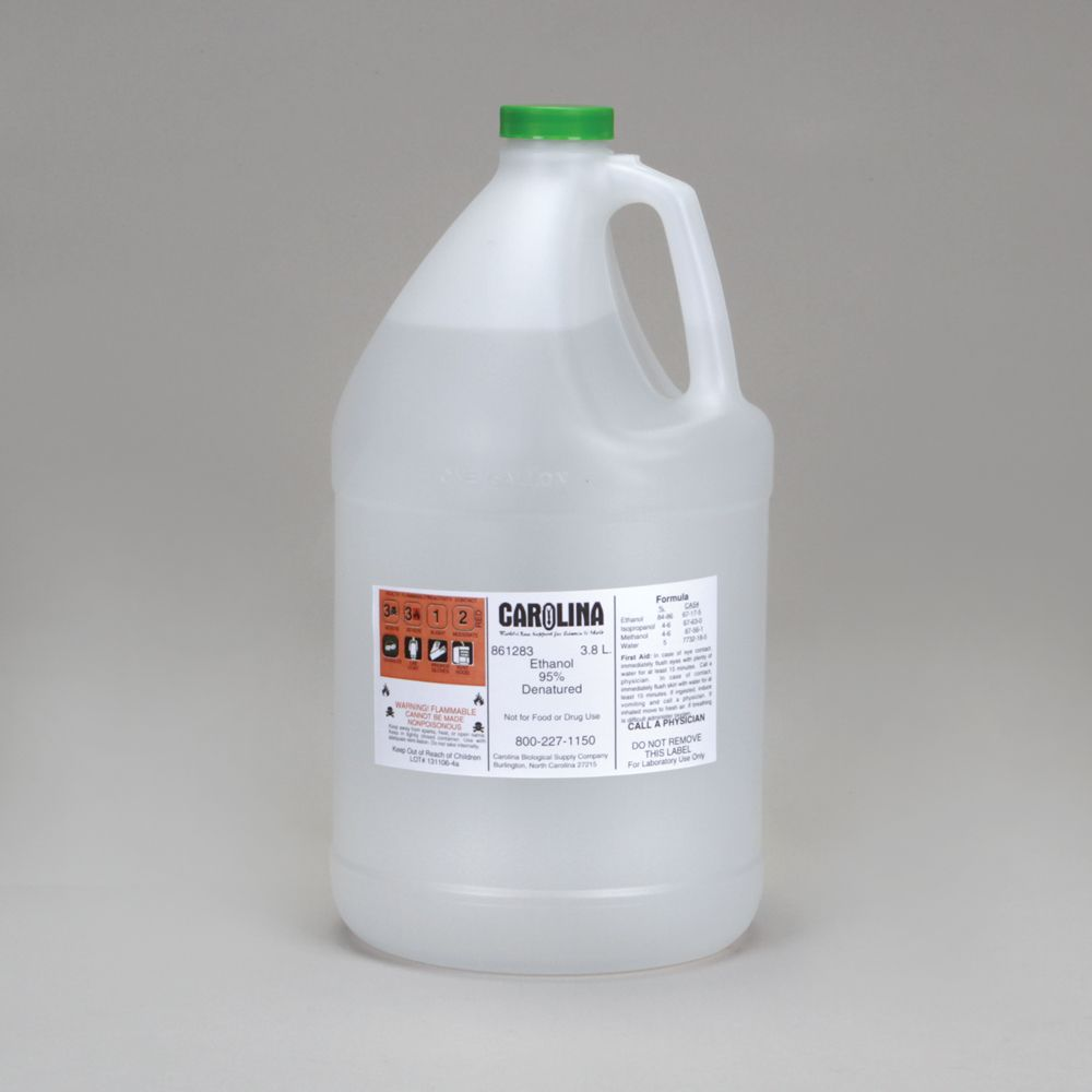 Ethanol 95 Laboratory Grade 3 8 L Carolina Com