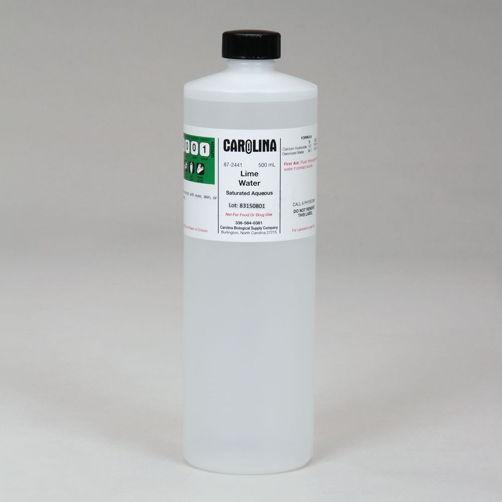 Lime water laboratory grade carolina lime water laboratory grade fandeluxe Choice Image