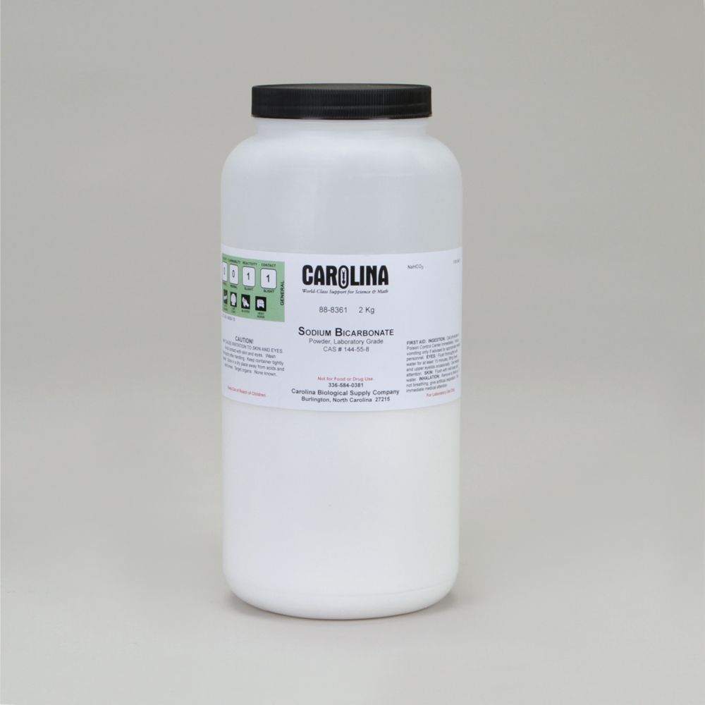 Sodium Bicarbonate, Powder, Laboratory Grade, 2 kg