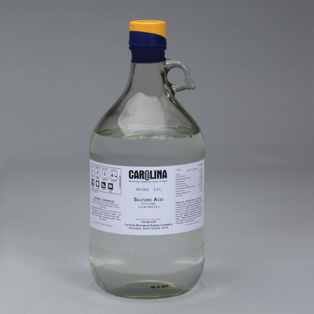 sulfuric acid Sulfuric acid: sulfuric acid, dense, colorless, oily, corrosive liquid one of the most important of all chemicals, prepared industrially by the reaction of water with sulfur trioxide.