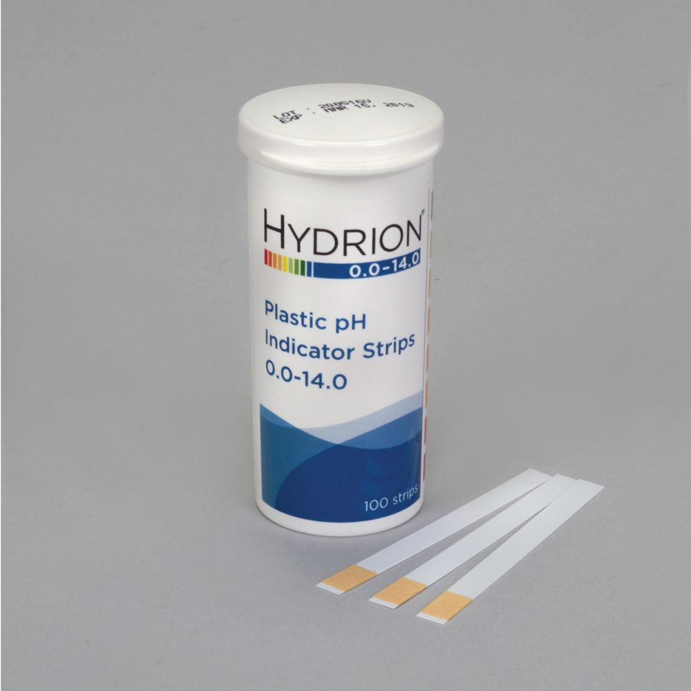 Hydrion 174 Spectral Ph Strips Ph 0 0 To 14 0 Pack 100