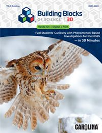 Building Blocks of Science™ 3D catalog