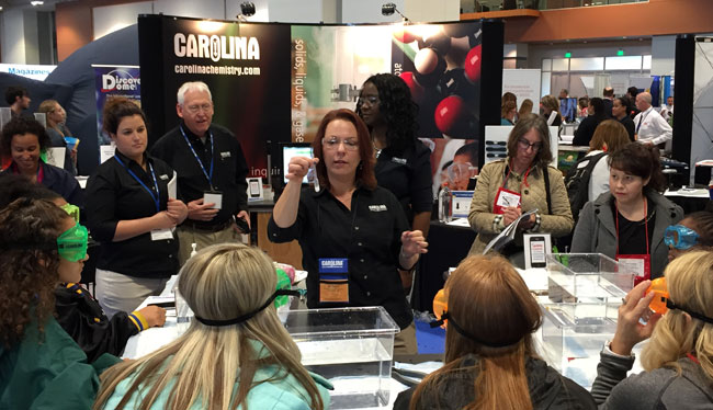 CPMI staff at a national tradeshow