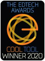EdTech Awards CoolTool Winner 2020 logo