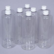 Bottle w/cap, plastic, 32 oz., Pack of 8