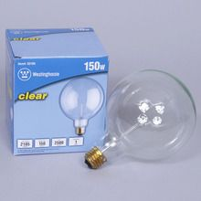 Light Bulb, Clear, 150W, each