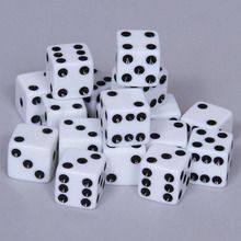 Dice, 16mm, Pack of 18