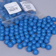 Bead, blue, 14mm, Pack of 150