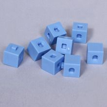 CM Cube, Blue, Pack of 8