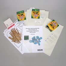 Structure and Function Kit: The Evolution of Eukaryotes, Prokaryotes, and Viruses (with Prepaid Coupon)