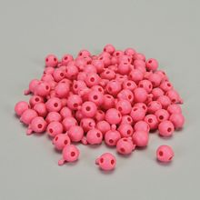 DNA Simulation Pink 4-Way Beads, Pack of 280