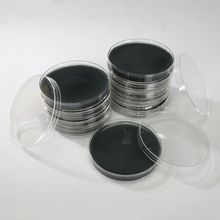 Black Agar Plates, for Small Seed, Pack 10