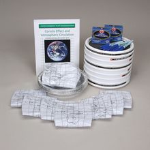 Carolina Investigations® for AP® Environmental Science: Coriolis Effect and Atmospheric Circulation 8-Station Kit