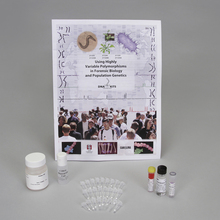 Using Highly Variable Polymorphisms in Forensic Biology and Population Genetics DNA Extraction and Amplification Kit with 0.2-mL Tubes (with prepaid coupon)