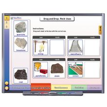 Multimedia Earth Science Lessons for Interactive Whiteboards: Rocks, Single User