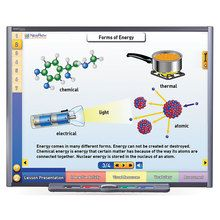 Physical Science Multimedia Lessons for Interactive Whiteboards: Energy: Forms and Changes, Single User