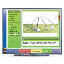 Physical Science Multimedia Lessons for Interactive Whiteboards: Forces and Motion, Single User