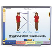 Physical Science Multimedia Lessons for Interactive Whiteboards: Light
