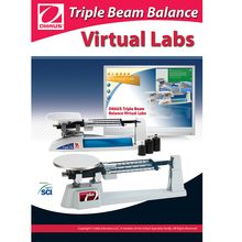 OHAUS Triple Beam Balance Virtual Lab Software, Single-User CD-ROM