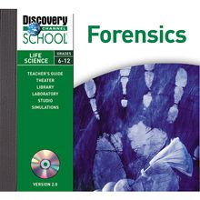 Discovery Education Forensics CD-ROM, Site License