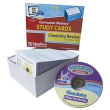 Chemistry Study Cards and Interactive CD-ROM Set