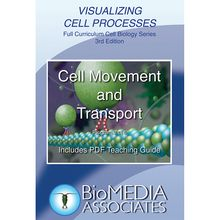 Visualizing Cell Processes: Cell Movement and Transport DVD