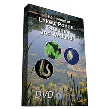 The Biology of Lakes, Ponds, Streams, and Wetlands DVD