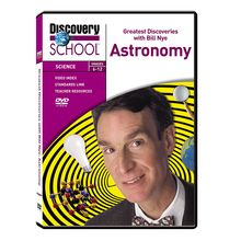 Greatest Discoveries with Bill Nye: Astronomy DVD