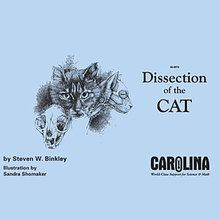Carolina eBook: Dissection of the Cat