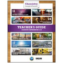 Chemistry: Concepts & Practices™: Student Learning Experiences 11–20 Teacher's Guide eBook, 1-Year License