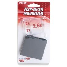 Carson® MagniFlip™ Plus, 2.5x, 5x, and 7x
