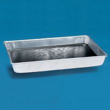 Dissecting Pan, Wear-Ever, Heavyweight Aluminum, without Wax 13 1/8 x 9 3/8 x 2 1/4 in