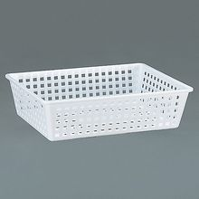 Cleaning/Draining Basket, Polyethylene, 15 3/4 x 11 3/4 x 4 in