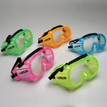 Safety Goggles, Large, Assorted Colors, Value Pack of 10