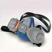 Half-Mask Respirator Body and Cartridges