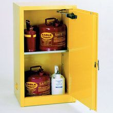 Space Saver Flammables Cabinet, Self-Closing Doors