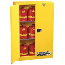 Sure-Grip® EX Safety Flammables Cabinet with Manual Doors
