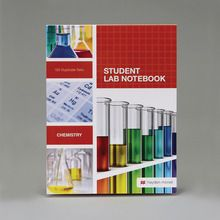 Carbonless Notebook, Chemistry, Top Bound, 100 Sheets