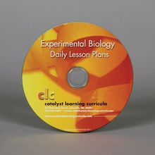 Experimental Biology Lesson Plans CD-ROM